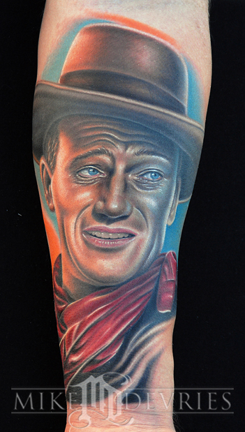 Mike DeVries - John Wayne Tattoo