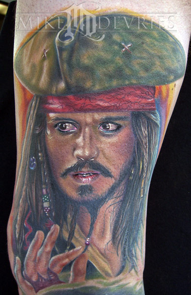 Tattoos - Jack Sparrow - 19344