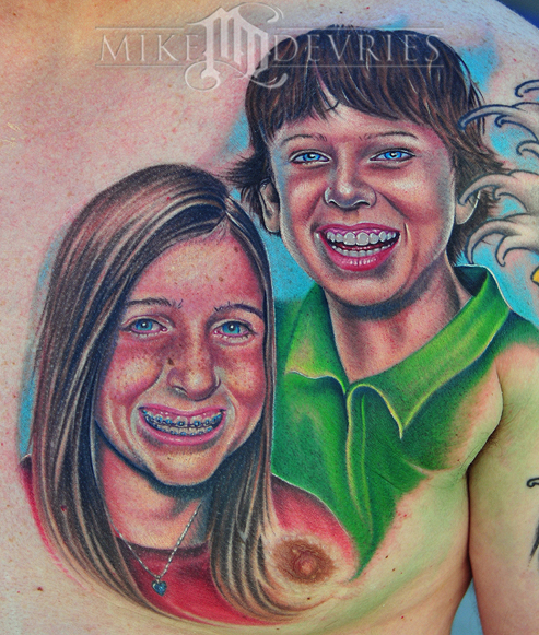 Tattoos - Kids Portrait Tattoos - 28447
