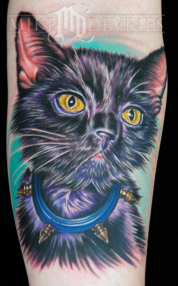 Tattoos - Nature Animal Wildlife tattoos - Kitty