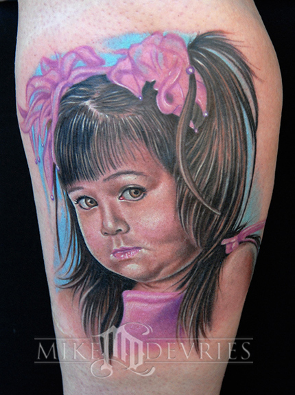 Tattoos Portrait
