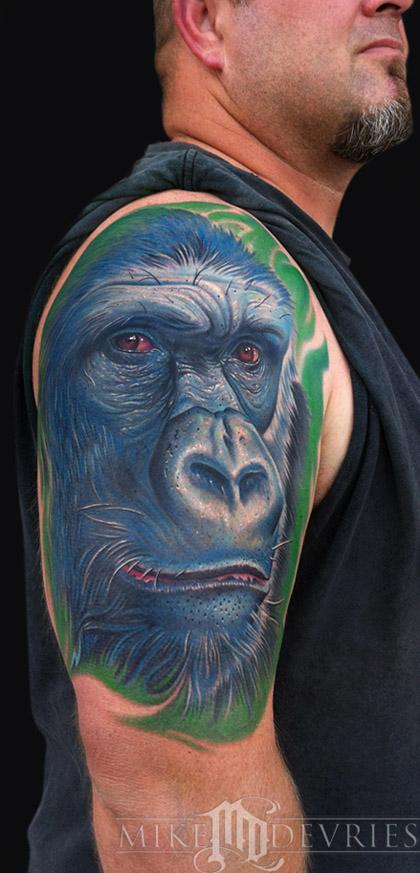 Mike DeVries - Gorilla Tattoo