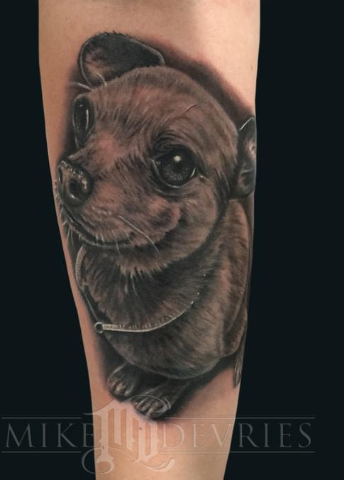 Mike DeVries - Chihuahua Tattoo