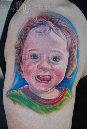 Mike DeVries - Son Portrait