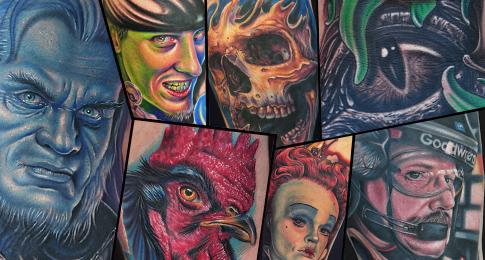 Realistic Color Tattoos and Portraits 