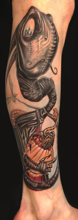 Mike DeVries - Craola Tattoo
