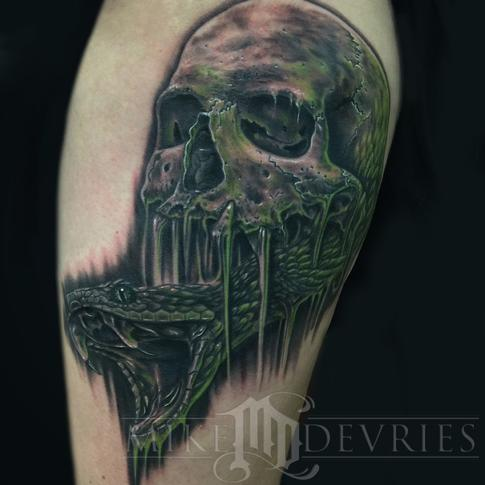 Mike DeVries - The Dark Mark Tattoo