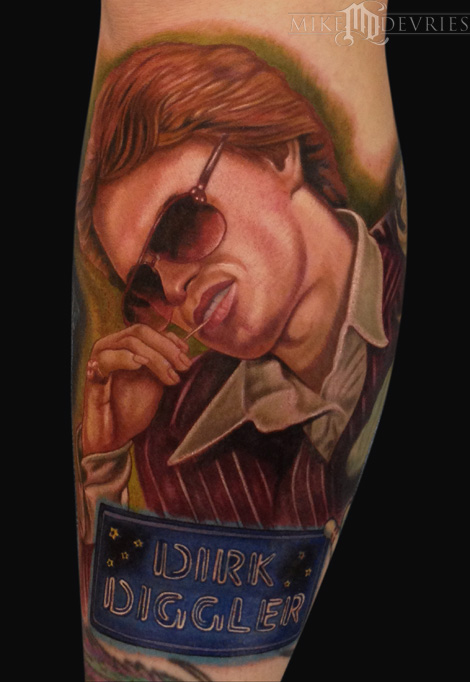 Tattoos - Dirk Diggler Tattoo - 91637