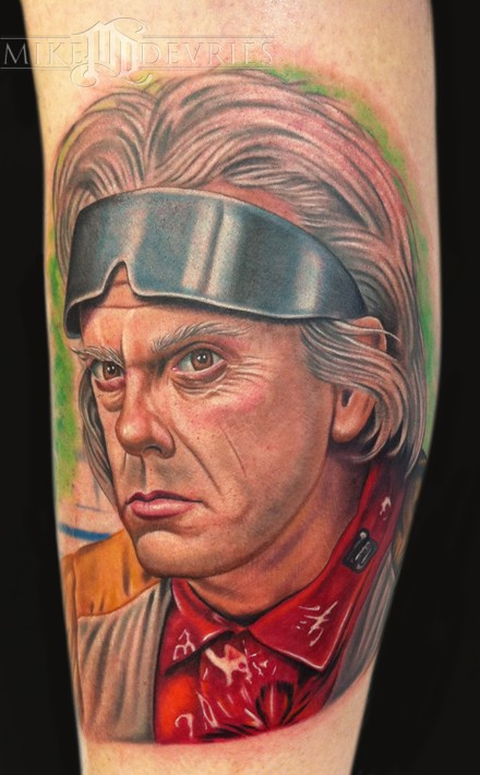 Tattoos - Doc Brown Tattoo - 50498
