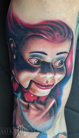 Mike DeVries - Social Doll Tattoo