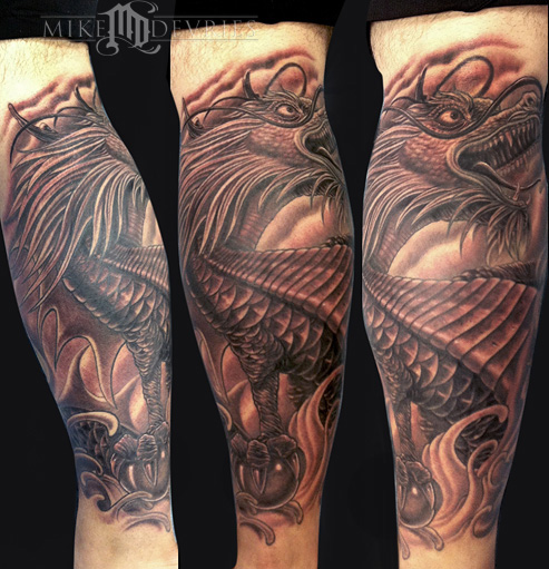 Mike DeVries - Dragon Tattoo