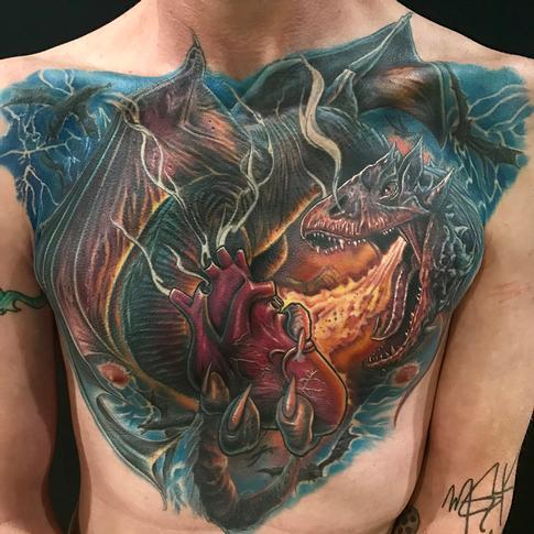 Mike DeVries - dragon