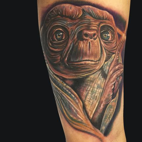 E.T. Tattoo Design Thumbnail