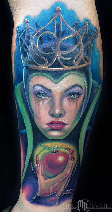 Mike DeVries - Evil Queen Tattoo