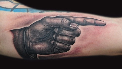 Mike DeVries - Finger Tat