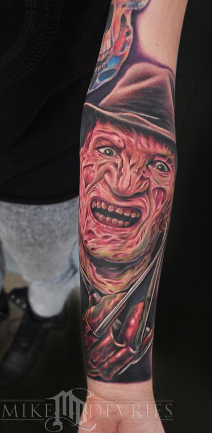 Tattoos - Freddy Krueger  - 59120