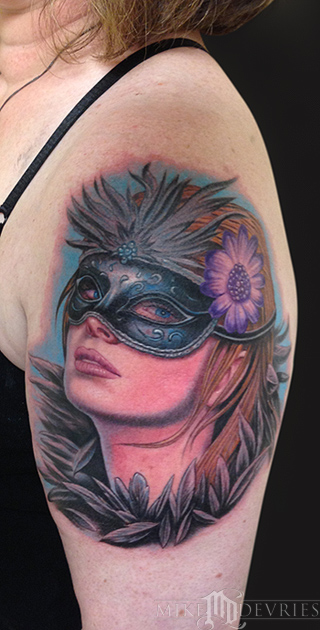 Mike DeVries - Masquerade Tattoo