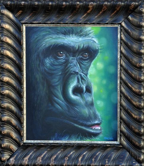 Mike DeVries - Ape Painting