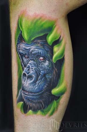 Tattoos - Gorilla Tattoo - 45034