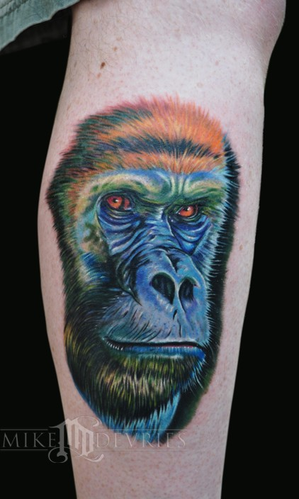 Tattoos - Gorilla Tattoo - 49655