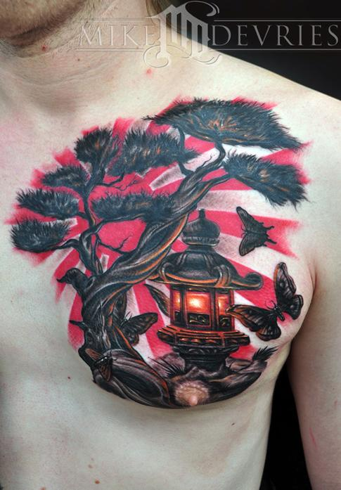 Tattoos - Japanese Lantern - 59233