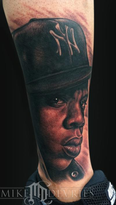 Tattoos - Jay-Z Portrait - 55066