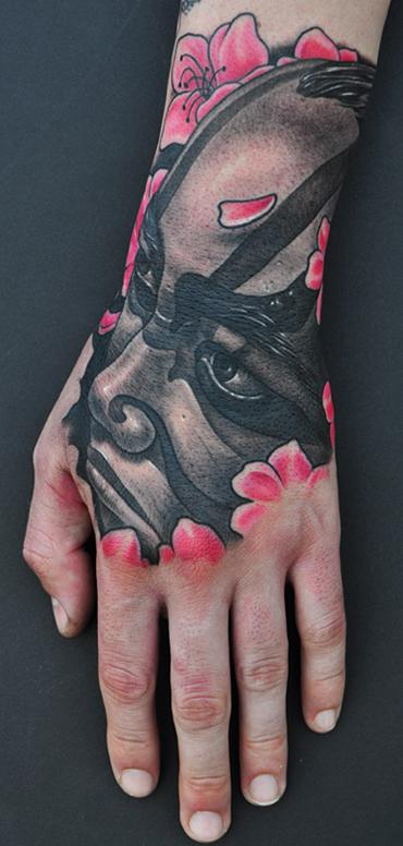 Mike DeVries - Kabuki Tattoo