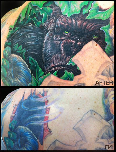 King Kong Tattoo Tattoo Design Thumbnail