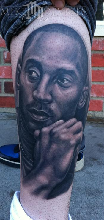 Tattoos - Kobe Bryant Tattoo - 57388