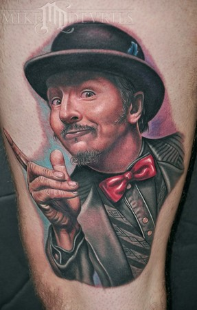 Mike DeVries - Les Claypool Tattoo