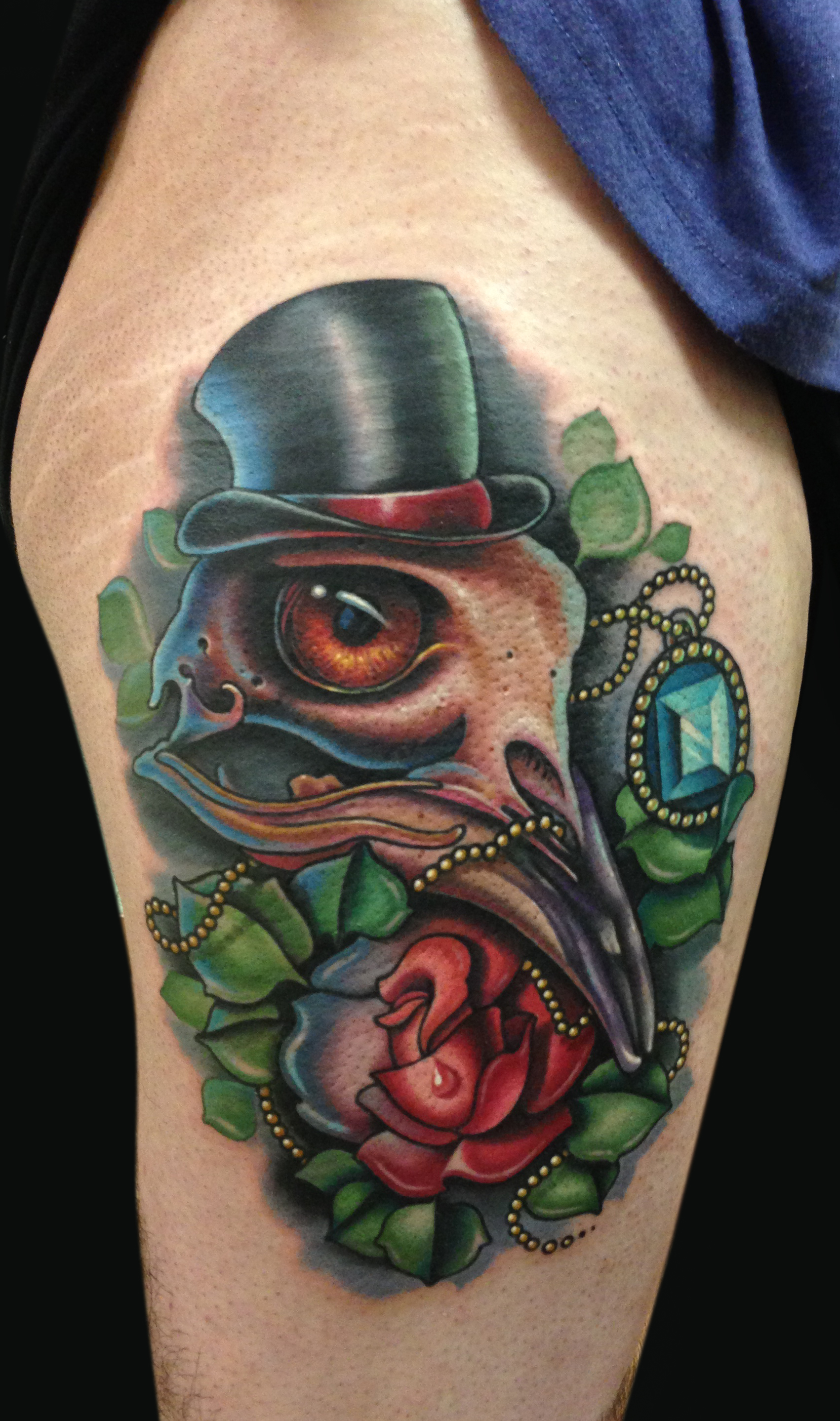 Tattoos - Bird Skull Plus - 76953