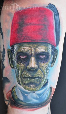 Mike DeVries - Mummy Tattoo