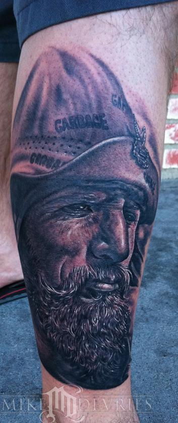 Tattoos - Old Biker Pic - 57395