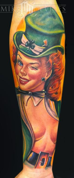 Mike DeVries - Pin-Up Tattoo