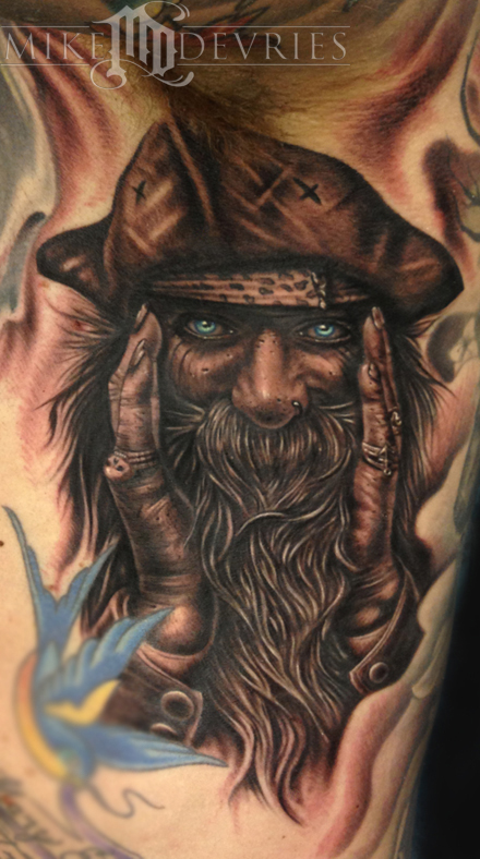 Mike DeVries - Pirate Tattoo