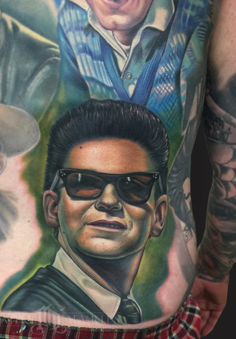 Tattoos - Roy Orbison Tattoo - 102464