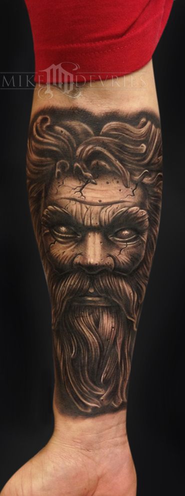 Tattoos - Statue Tattoo  - 76473
