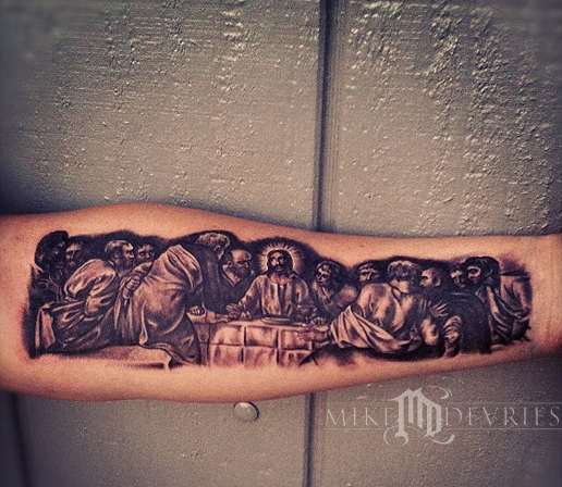 The Last Supper by Mik...