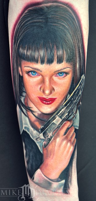 Tattoos - Uma Thurman  - 50113