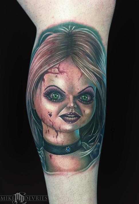Bride of Chucky Tattoo Tattoo Design