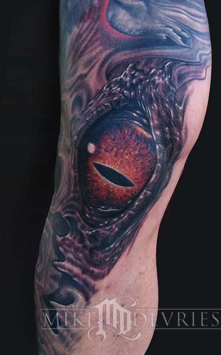 Tattoos - Crazy Eye Tattoo - 59555