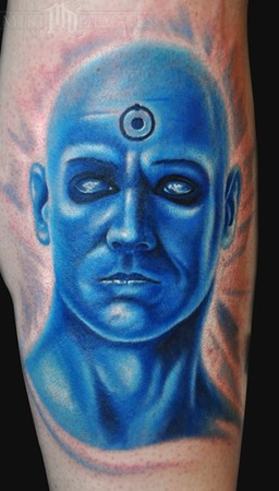 Tatto Machine on Dr  Manhattan   Tattoos