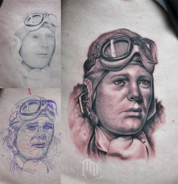 Tattoos - Portrait Tattoo - 42429