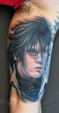 Mike DeVries - Johnny Depp Tattoo