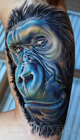 Tattoos - Gorilla Tattoo - 37073