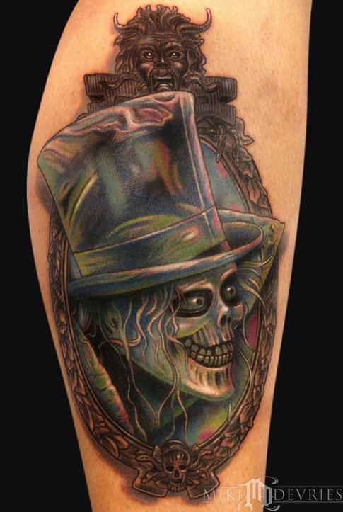 Tattoos - Hat Box Ghost Tattoo - 94396