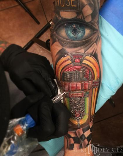Tattoos - Jukebox Tattoo - 96485