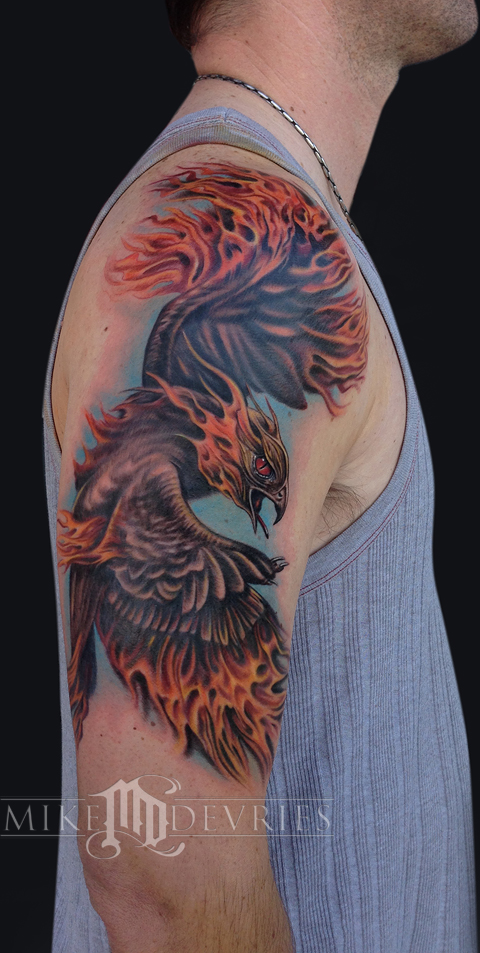 Tattoos - Phoenix Tattoo - 75951