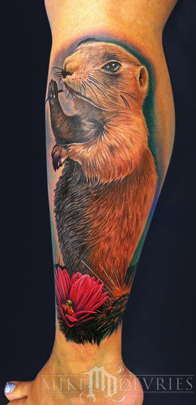 Mike DeVries - Prairie Dog Tattoo