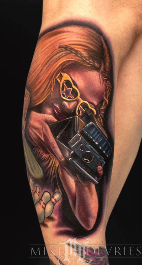 Mike DeVries - RollerGirl Tattoo